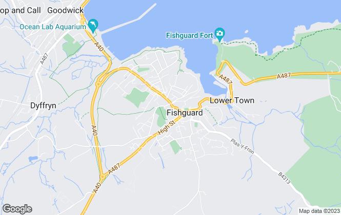 Map for JJ Morris, Fishguard