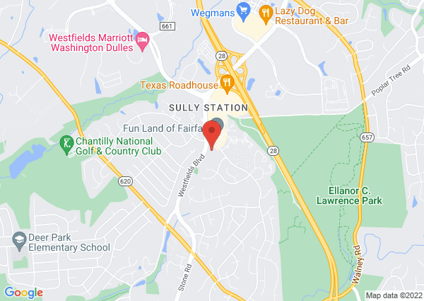 Map of 5101 Sequoia Farms Drive, Centreville, VA, USA