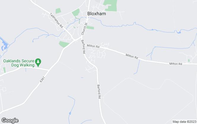 Map for Distinct Estate Agents, Banbury