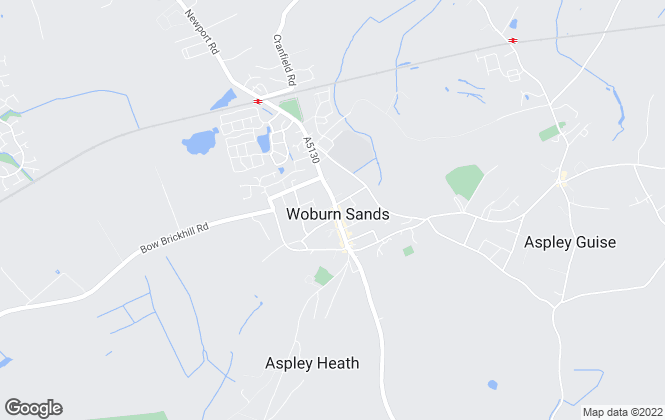 Map for Beasley & Partners, Woburn Sands