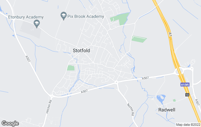 Map for Stephens Estate Agents, Stotfold