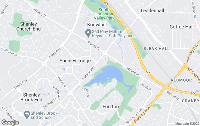 Map for Rhyen Jordan Estate Agents Ltd, Milton Keynes