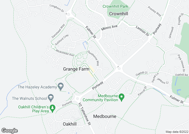 Map for Grange Farm