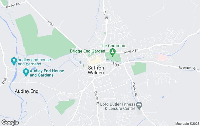 Map for Cheffins Residential, Saffron Walden