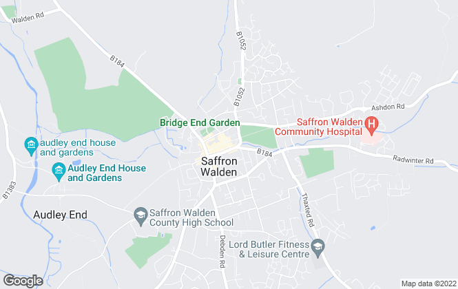 Map for Kevin Henry, Saffron Walden