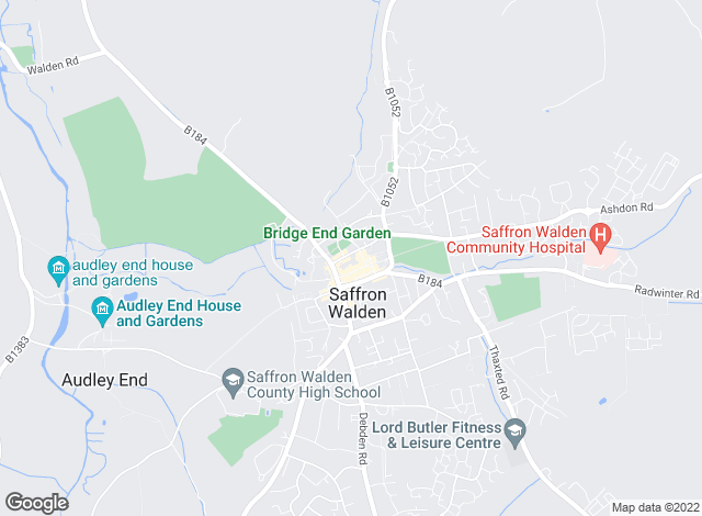 Map for Mullucks Wells, Saffron Walden - Lettings