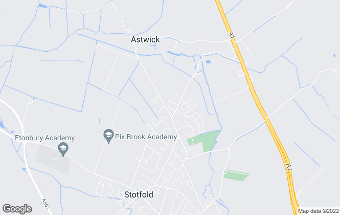 Map for Piper Stafford , Stotfold