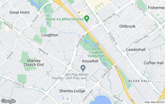 Map for Elevation, Milton Keynes - New Homes