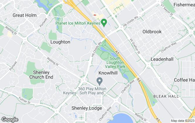 Map for Elevation, Milton Keynes