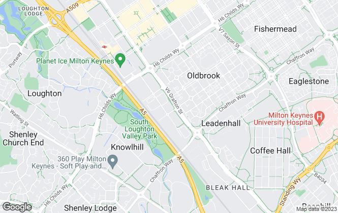 Map for Big Yellow Self Storage Co Ltd, Big Yellow Milton Keynes