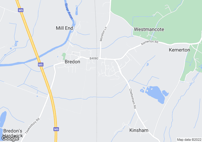 Map for Bricknell Avenue,
