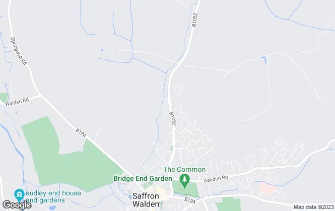 Map for  Cass Properties, Saffron Walden
