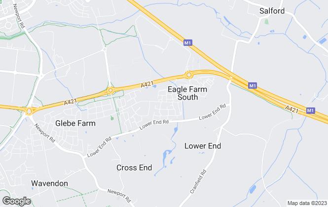 Map for Barratt Homes - South Midlands
