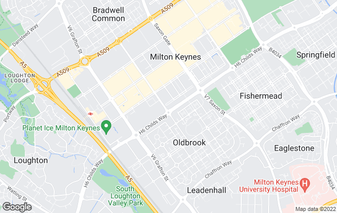Map for Oakhill (Milton Keynes) Ltd, Milton Keynes - Lettings