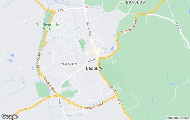 Map for Christopher Lyons, Ledbury