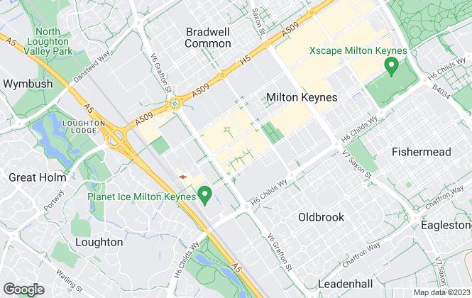 Map for Let Only MK, Milton Keynes
