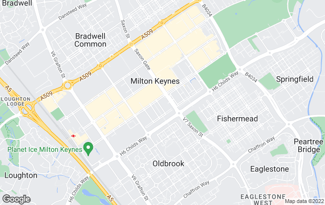 Map for Let Me, Milton Keynes
