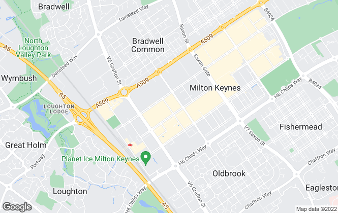 Map for Morgans, Milton Keynes
