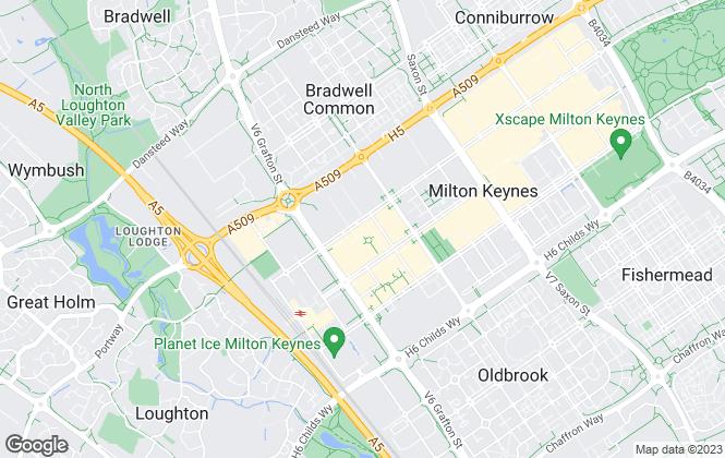 Map for Lambert Smith Hampton, Milton Keynes