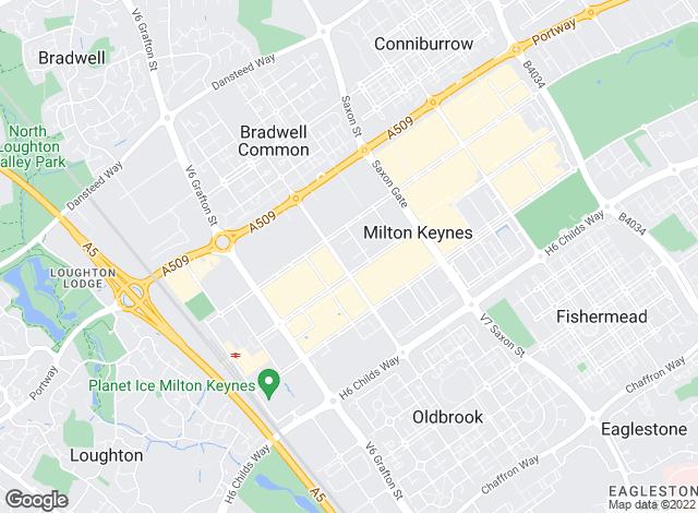Map for Michael Anthony, Milton Keynes