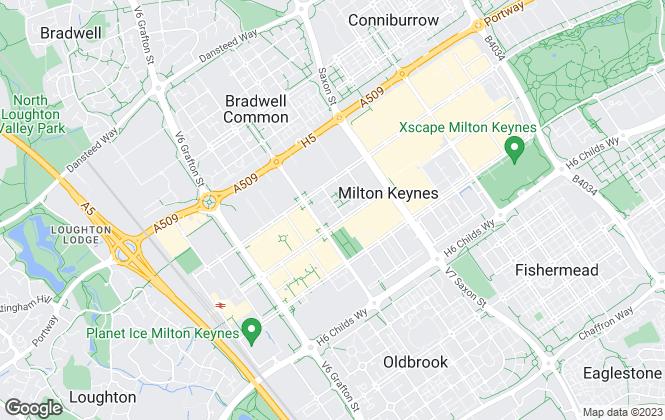 Map for Taylor Walsh, Milton Keynes