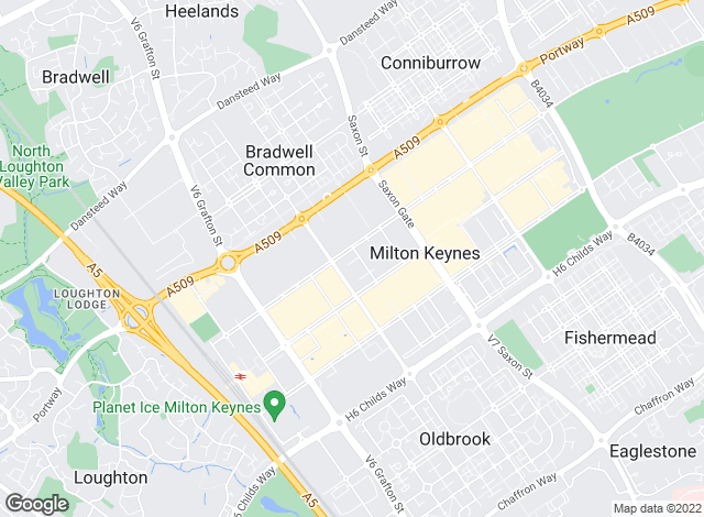 Map for Marshalls Estate Agents , Milton Keynes