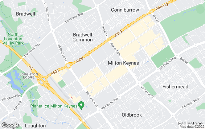 Map for Urban & Rural Property Services, Milton Keynes