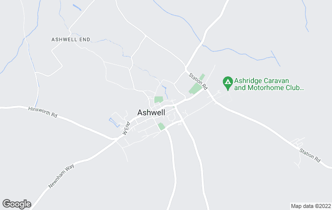 Map for Country Properties, Ashwell  (Sales and Lettings)
