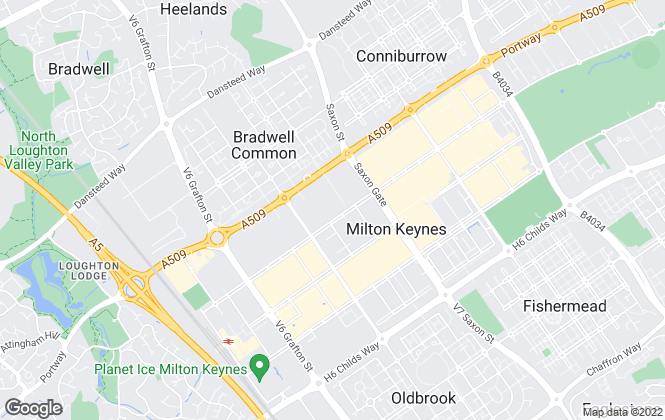 Map for Mustard, Milton Keynes
