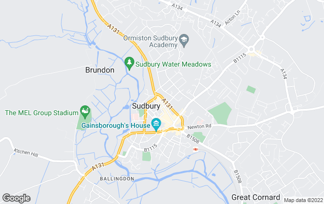 Map for Boydens, Sudbury