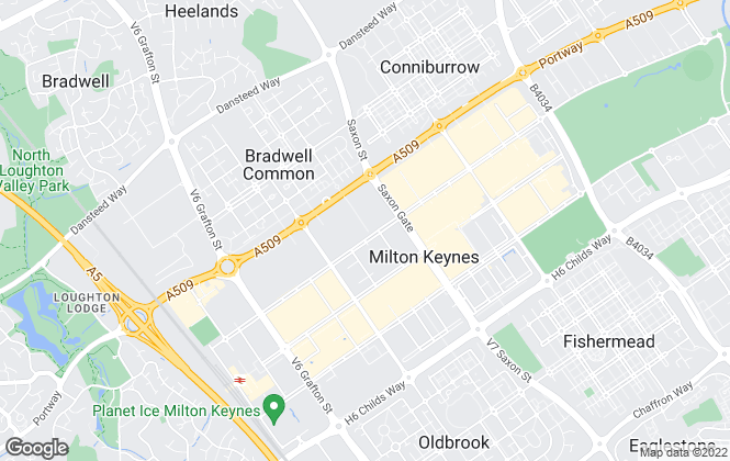 Map for Limestone Sales, Milton Keynes
