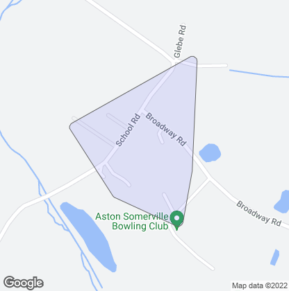 Map of property in Aston Somerville