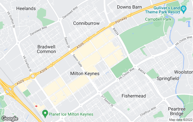 Map for Wilson Peacock, Milton Keynes
