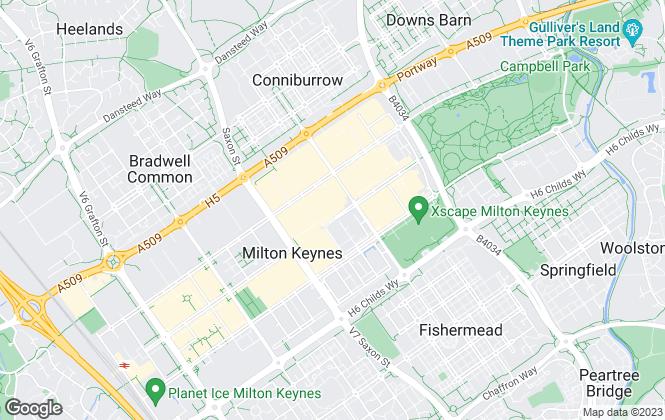 Map for Wilson Peacock Residential Lettings, Milton Keynes