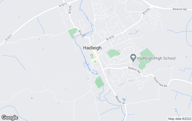 Map for Hunters, Hadleigh