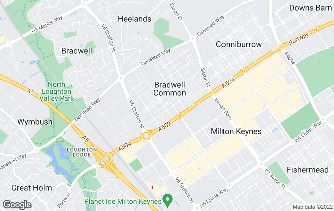 Map for LOCAL Estate Agent, Milton Keynes
