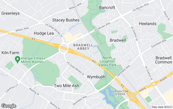 Map for Faulkner Property , Milton Keynes