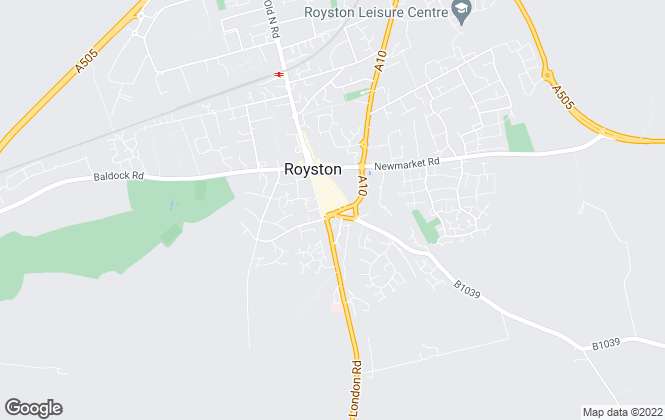 Map for SAB, Royston (Lettings)