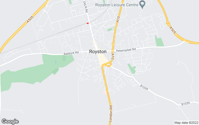 Map for Country Properties, Royston (Sales and Lettings)