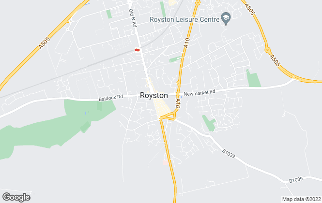 Map for Marshalls, Royston