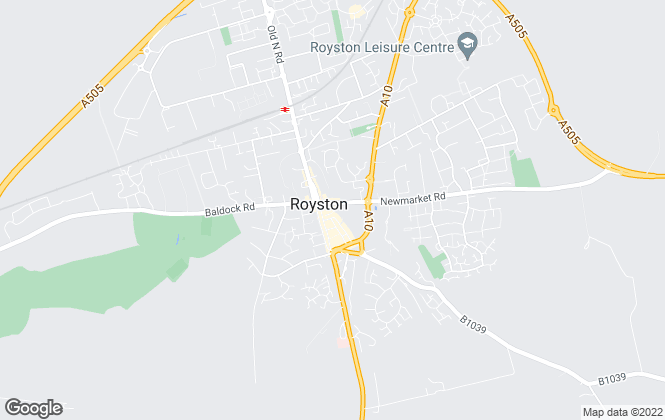 Map for Abode Town and Country, Royston