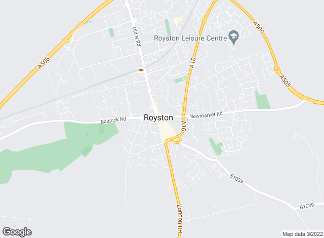 Map for Putterills, Royston