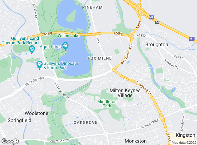 Map for Prestige Estate Agent , Milton Keynes