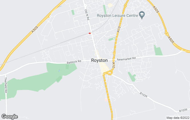 Map for Archer Peers, Royston