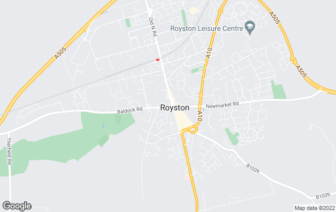 Map for Archers Town & Country, Royston