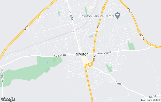 Map for The Letting Agency, Royston - Lettings