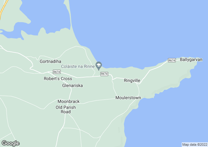 Map for An Rinn, Waterford