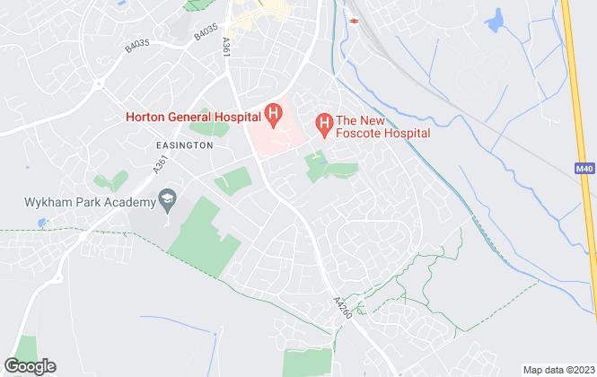 Map for Round & Jackson, Banbury
