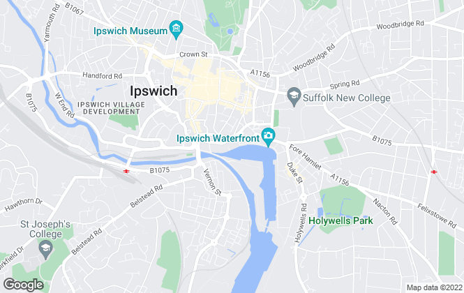 Map for Ipswich Waterfront Apartments , Ipswich