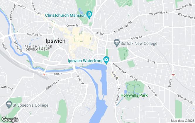 Map for Riverdale Estates Ltd, Ipswich